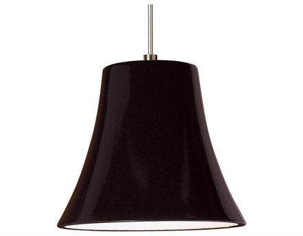 A19 Lighting Studio Bella Black Gloss Mini-Pendant Light with Mono-Point Canopy A1LVMP20