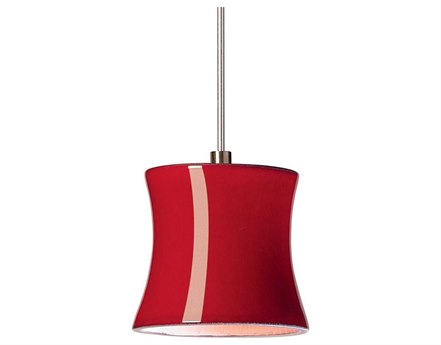 A19 Lighting Studio Sake Matador Red Mini-Pendant Light with Mono-Point Canopy A1LVMP22