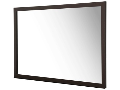 Aico Furniture Michael Amini 21 Cosmopolitan Umber 36''W x 54''H Rectangular Wall Mirror