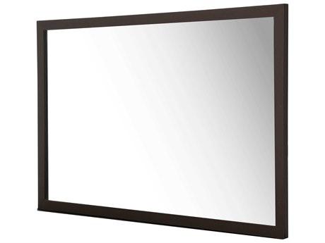 Aico Furniture Michael Amini 21 Cosmopolitan Umber 36''W x 54''H Rectangular Wall Mirror AIC9029060812