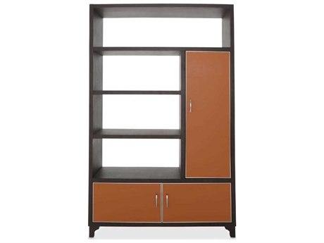 Aico Furniture Michael Amini 21 Cosmopolitan Diablo Orange / Umber Right Bookcase AIC9029098R812