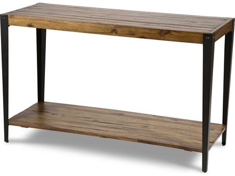 Aico Furniture Michael Amini Aspen Plantation Hardwood 48''W x 18''D Rectangular Console Table AICFSASPEN223