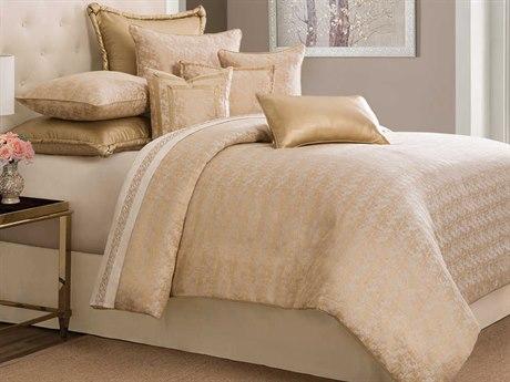 AICO Furniture Aurora Comforters AICBCSQS09ARORAGLD