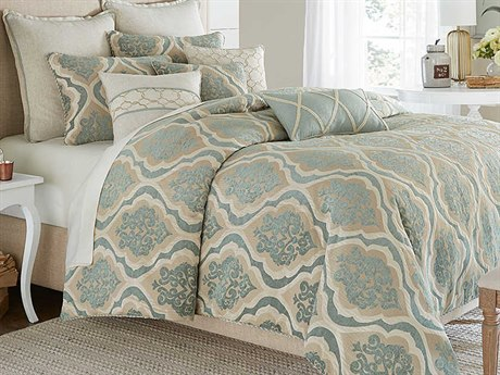 AICO Furniture Avery Manor Comforters AICBCSQS09AVERYSPA