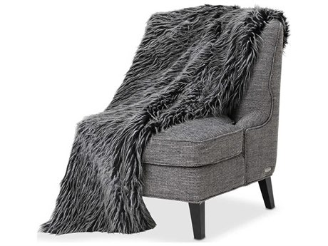 AICO Furniture Badger Throws AICBTHO5672BADGRGRY