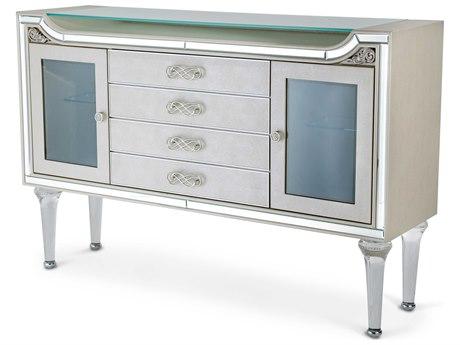 Aico Furniture Michael Amini Bel Air Park Champagne Sideboard AIC9002007R201
