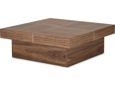AICO Furniture Brockton 42'' Wide Square Coffee Table AICTRBRKTN201
