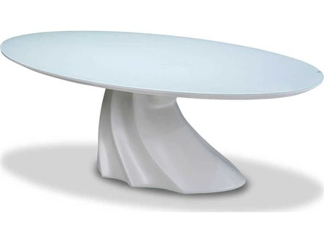 AICO Furniture Cosmo 53'' Wide Oval Coffee Table AICTRCOSMO201