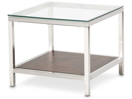 AICO Furniture Diversey 24'' Wide Square End Table AICFSDVRSY202