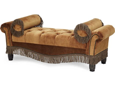 AICO Furniture Essex Manor Accent Bench AIC76855DPBRN57