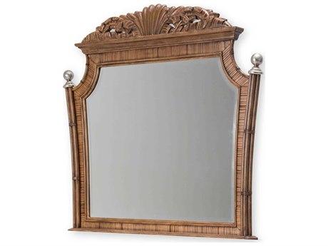 Aico Furniture Michael Amini Excursions Warm Carmel Cashmere 53''W x 48''H Dresser Mirror