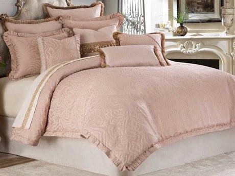 AICO Furniture Fontaine Comforters AICBCSKS10FONTNQTZ