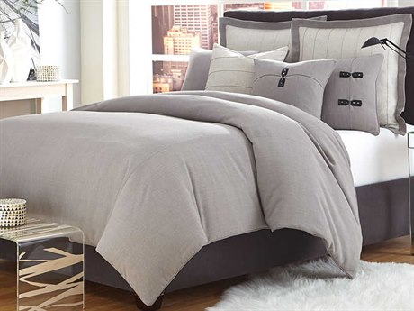 AICO Furniture Fusion Duvets AICBCSKD08FUSONGRY