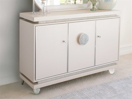 Aico Furniture Michael Amini Glimmering Heights Ivory Sideboard