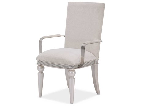 AICO Furniture Glimmering Heights Arm Dining Chair