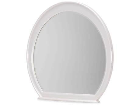 Aico Furniture Michael Amini Glimmering Heights Ivory 46''W x 39''H Dresser Mirror