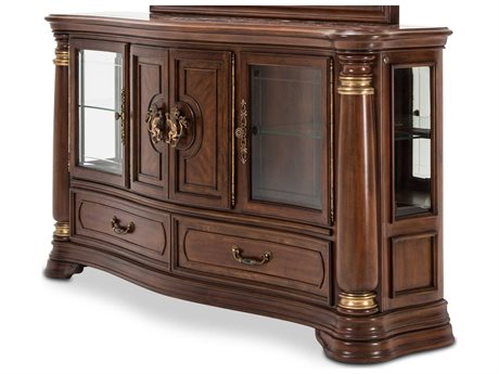 Aico Furniture Michael Amini Grand Masterpiece Royal Sienna Sideboard AIC9050007402
