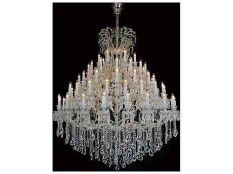 AICO Furniture Grand Versailles 48'' Wide Glass AICLTCH91545GLD