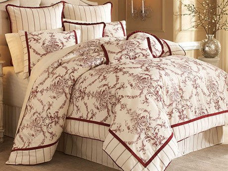 AICO Furniture Hidden Glen Comforters AICBCSKS10HIDGLNNAT