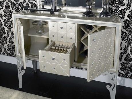 Aico Furniture Michael Amini Hollywood Swank Pearl Sideboard AICNT0300708