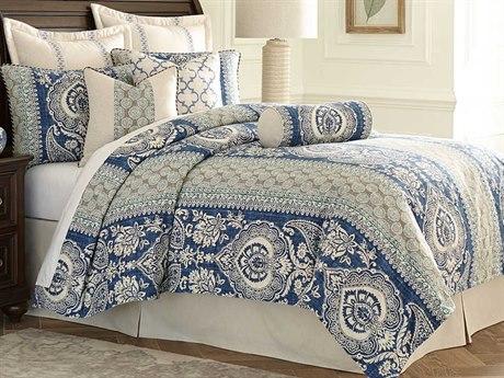 AICO Furniture La Rochelle Comforters AICBCSQS09LARCHCAD