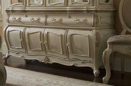 Aico Furniture Michael Amini Lavelle Blanc Buffet AIC5400604