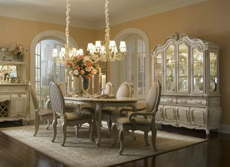 Aico Furniture Lavelle Dining Room Set AIC54000N04SET