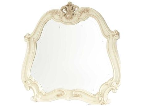 Aico Furniture Michael Amini Lavelle Blanc 55''W x 20''H Dresser Mirror AIC5406004