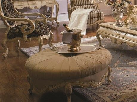 Aico Furniture Michael Amini Lavelle Champagne / Blanc Cocktail Ottoman AIC54879CHPGN04