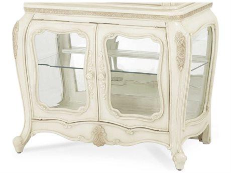 Aico Furniture Michael Amini Lavelle Blanc Curio Base