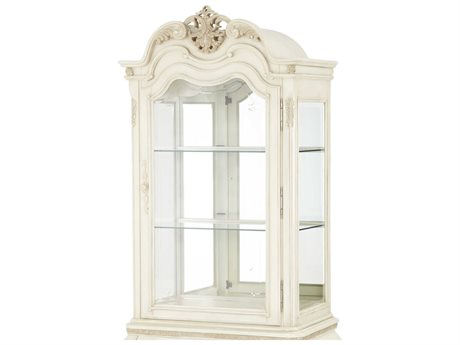 Aico Furniture Michael Amini Lavelle Blanc Curio Top AIC54505T04
