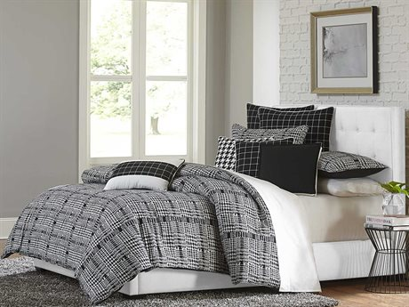 Aico Furniture Michael Amini Lucianna Nori Nine-Piece Queen Comforter Set AICBCSQS09LUCIANNOI