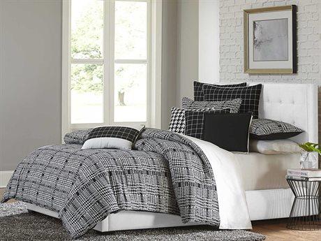 Aico Furniture Michael Amini Lucianna Nori Ten-Piece King Comforter Set AICBCSKS10LUCIANNOI