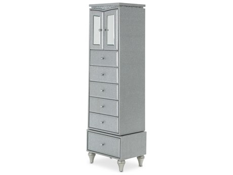 Aico Furniture Michael Amini Melrose Plaza Dove Six-Drawer Chest of Drawer AIC9019062118