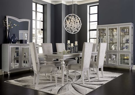 Aico Furniture Melrose Plaza Dining Room Set AIC9019000118SET