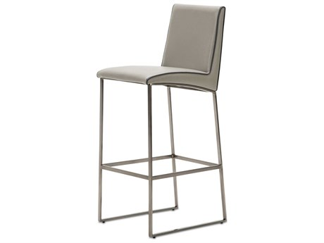 Aico Furniture Michael Amini Metro Lights Gray Bar Stool AIC9010504809