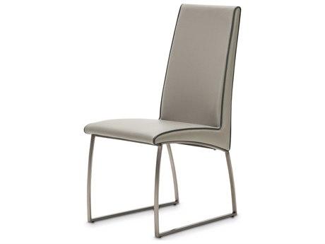 Aico Furniture Michael Amini Metro Lights Gray Dining Side Chair AIC9010003809
