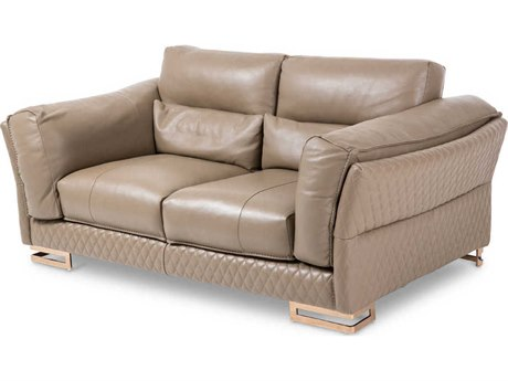 AICO Furniture Mia Bella Loveseat Sofa AICMBMNICA25TPE801