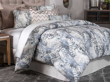 AICO Furniture Miramar Comforters AICBCSKS10MRMARSMK