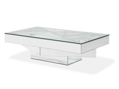 AICO Furniture Montreal 59'' Wide Rectangular Coffee Table AICFSMNTRL1389