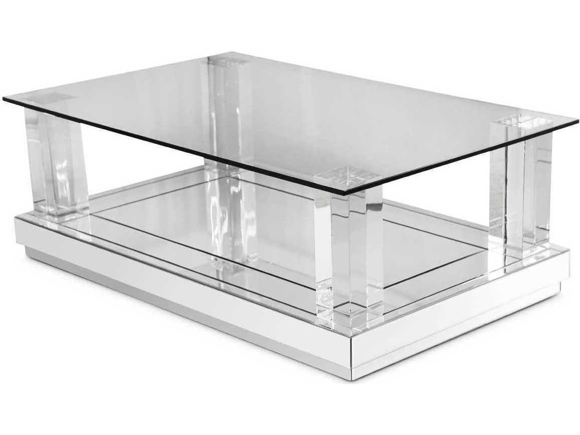 Aico Furniture Montreal 47 Wide Rectangular Coffee Table