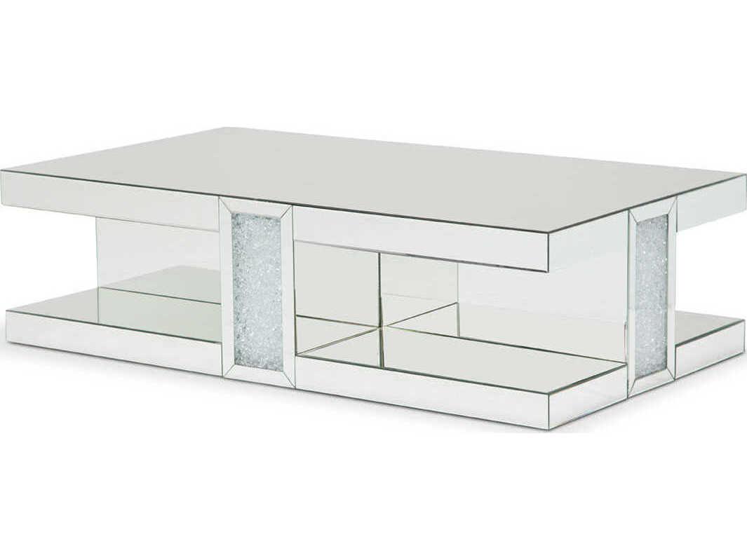 Aico Furniture Montreal 59 Wide Rectangular Coffee Table