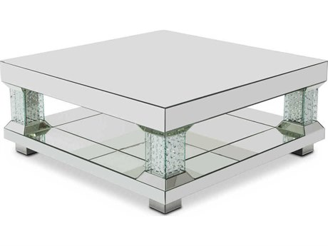 AICO Furniture Montreal 48'' Wide Square Coffee Table AICFSMNTRL208H