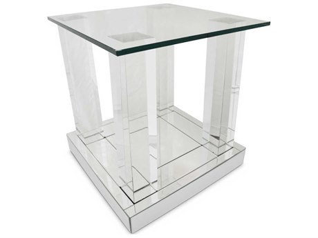 AICO Furniture Montreal 19'' Wide Square End Table