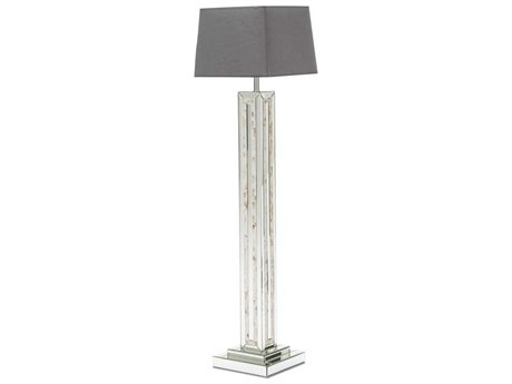 AICO Furniture Montreal Crystal Glass Floor Lamp AICFSMNTRL190