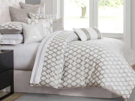 AICO Furniture Newport Comforters AICBCSQS09NWPRTPLTN
