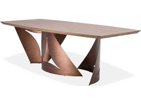 AICO Furniture Parallel 94'' Wide Rectangular Dining Table AICTRPRLEL002