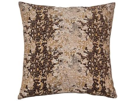 Aico Furniture Michael Amini Columbia Cocoa Decorative Pillow