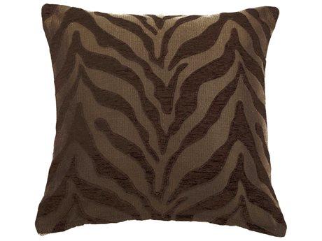 Aico Furniture Michael Amini Casablanca Brown Decorative Pillow AICBCSDP22CSABNCBRN