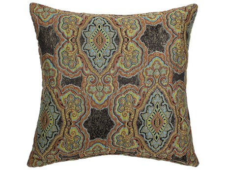 Aico Furniture Michael Amini Evans Noir Decorative Pillow AICBCSDP22EVANSNOR